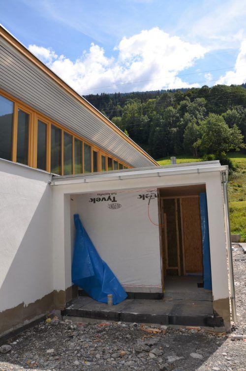 Das räumliche Angebot des Kristbergsaals in Dalaas wurdeerweitert. DOB