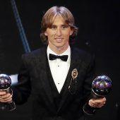 Modric – neuer König im Fußball