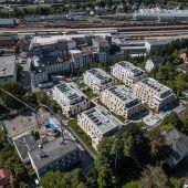 Werdenbergpark im Baufinale