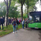 Eine Busfahrt in die Zukunft