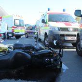 Biker stirbt bei Kollision