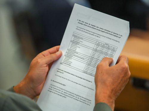 Der Rechnungsabschluss, der im Juli vorgelegt wurde, freut auch S & P. VN/OL