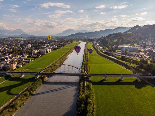"Kantonsrat Peter Kuster über Rhesi: ""250 ha bestes Kulturland werden geopfert.""VN/Paulitsch"