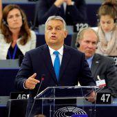 ÖVP und FPÖ uneins in der Orban-Frage
