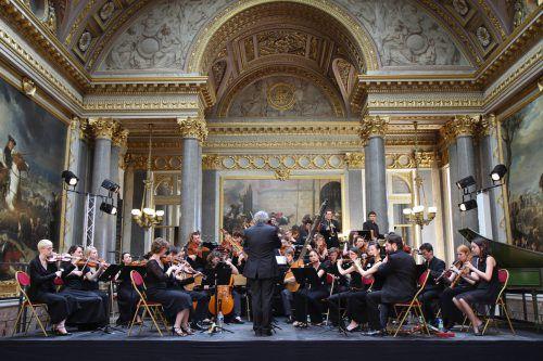 """Die """"24 Geigen des Königs"""" sind in Feldkirch erstmals im deutschsprachigen Raum zu hören. Chabridon"""