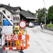 Hofsteigstraße bald wieder offen