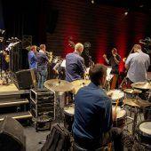 Big Band Union brachte die Remise zum Beben