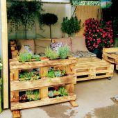 Eine Kräuter-Lounge zum Chillen