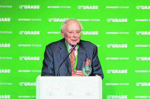 Die deutsche Unternehmerlegende Reinhold Würth zählt auch in Vorarlberg zu den größten Arbeitgebern. Grass/Weissengruber