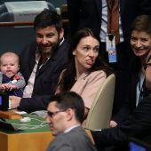 Erstes Baby bei UN-Vollversammlung