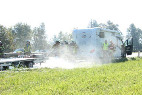 Die Feuerwehr hatte die Situation rasch unter Kontrolle. vol.at/Vlach