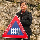 Waeger-Kunstinstallation nur noch kurz auf Alt-Ems