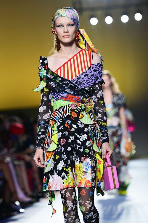 Die italienische Modegruppe Versace steht vor dem Verkauf. AFP