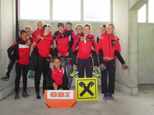 Die jungen Athleten der TS Bregenz Vorkloster zeigten bei den Landesmeisterschaften wieder Topleistungen. TS Bregenz Vorkloster