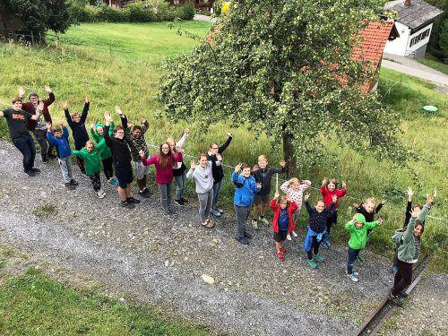 Die jungen Musiker der Jugendkapelle Götzis-Klaus genossen das viertägige Musiklager in Furx. gemeindemusik Götzis