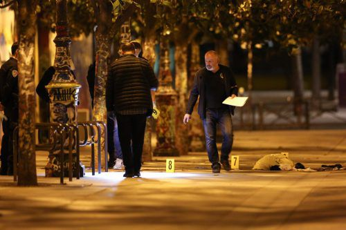 Die Kriminalpolizei ermittelt wegen versuchten Totschlags. AFP
