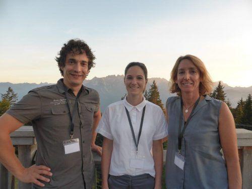 Die Leader-Manager Peter Steuer, Stefanie Wirth und Karen Schillig (v. l.) begleiteten die Exkursionen.