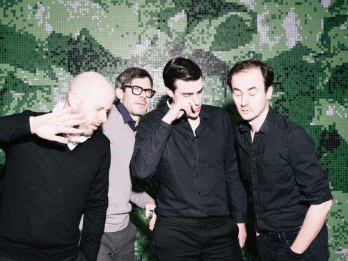"""Die österreichische Indie-Rock-Band Kreisky stellt ihr neues Album """"Blitz"""" vor.ingo pertramer"""