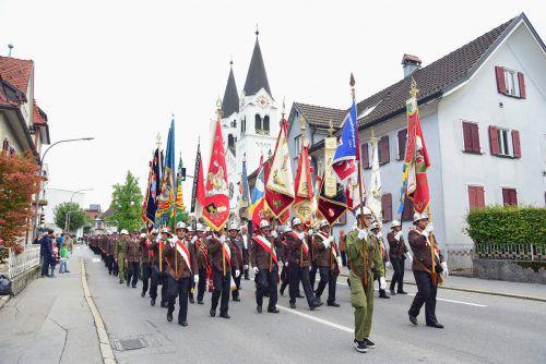 Die Ortsfeuerwehr Götzis bewältigt jährlich bis zu 120 Einsätze. Werner Micheli