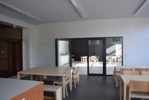 Die Räume der Schülerbetreuung waren früher die Wohnung des Hauswarts. stadt