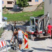 Straßensanierung in Fontanella im Finale