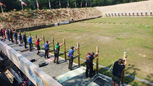 Die Schützen aus Bludenz-Bürs konnten sich bei der Europameisterschaft in Schweden zahlreiche Titel erschießen. Schützengilde