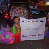 Typico hilft Menschen nach Vulkanausbruch