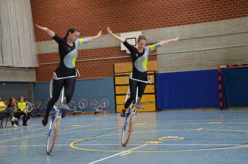 Die vierte Runde des ASVÖ-Kunstradcups steigt am kommenden Samstag in der Turnhalle der Volksschule Altenstadt. RC Altenstadt