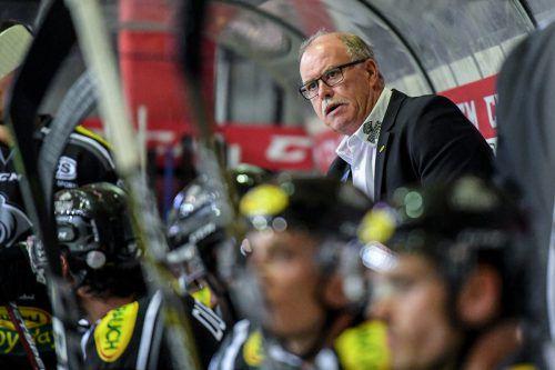 Die Vorbereitung der Truppe von Trainer Dave MacQueen (Bild) endete ausgeglichen: Vier Siege stehen vier Niederlagen gegenüber.gepa