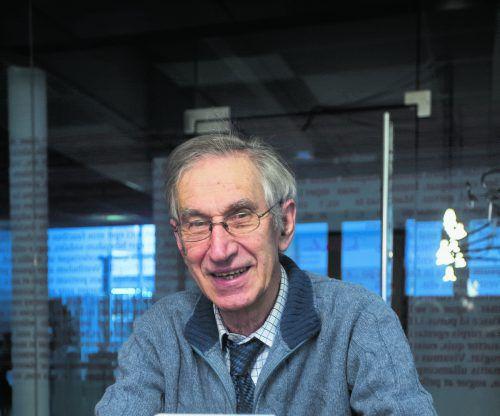Elmar Simma bietet in seinem Buch Wege zur Neuorientierung. VN/Steurer