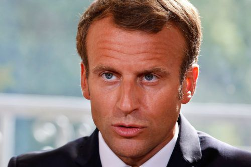 Emmanuel Macron plant ein Milliardenpaket gegen die Armut in Frankreich. afp