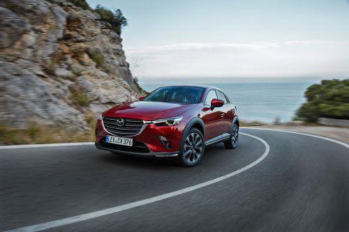 Erste VN-Fahreindrücke: Mazda hat den kleinen CX-3 weiter kräftig aufgewertet.werk