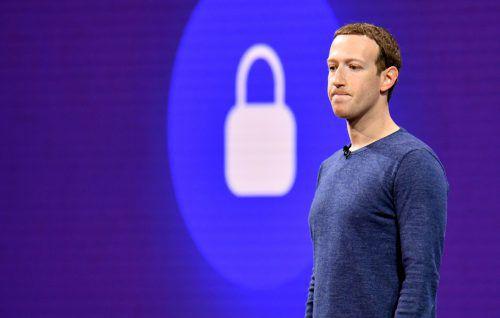 Es sei nicht klar, wer hinter dem Angriff steckt, sagte Zuckerberg. AFP