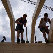 Holzbau freut sich über bestes Jahr. D1