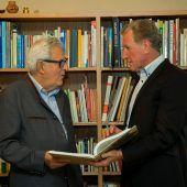 VN-Ombudsmann Gottfried Feurstein nun mit Erich Schwärzler als Partner. A6