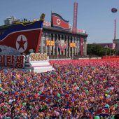 Militärparade ohne größere Provokation