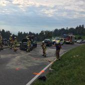 Drei Verletzte bei Unfall auf der Bödelestraße