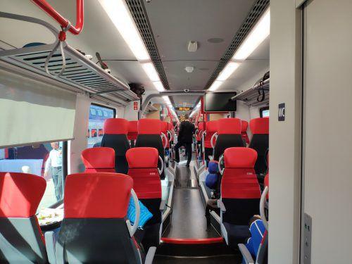 Jugendlicher sorgte für massiven Stress im Zugwaggon. VN