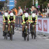 Vorarlberg Santic mit Rang 14 schnellstes Amateurteam bei Rad-WM. C1