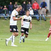 Siege im ÖFB-Cup: Altach gewinnt 2:1 und Lustenau 3:1. C1