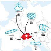 Vorarlberger Toastbrot statt Schweizer Ruchbrot