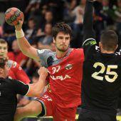 Harder Handballer verpassen mit 21:21 bei Leader Graz Sprung an die Spitze. C2