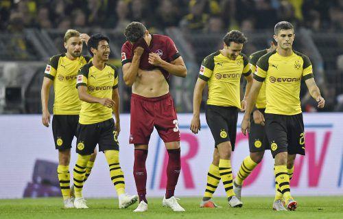 Georg Margreitter wollte das 0:7 in Dortmund nicht wahrhaben.ap
