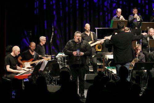Jazz, wie hier mit dem Vorarlberg Jazz Collective und George Nussbaumer, hat in der Remise immer ein Podium. VN/Hofmeister
