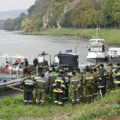 Unfall mit Bundesheer-Boot: Zwei Frauen in kritischem Zustand