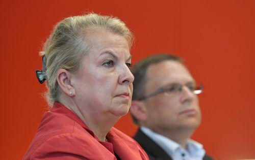 Hartinger-Klein und Wöginger: Reform soll spätestens kommende Woche stehen. APA