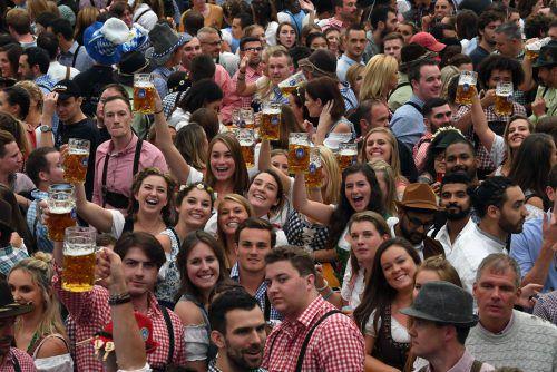 Hunderttausende Liter Bier wurden bereits getrunken. AFP