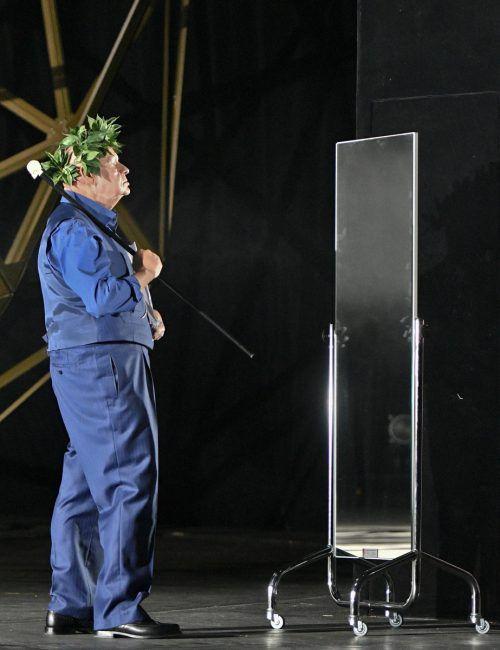 "Ignaz Kirchner in Goethes ""Torquato Tasso"" am Burgtheater. APA"