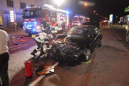 Im Einsatz waren auch 25 Leute der Feuerwehr Rieden. Vlach