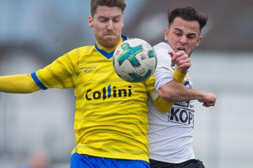 Im Westliga-Derby zwischen Altach und Hohenems werden die Nachwuchstalente um jeden Ball kämpfen.VN-SAMS